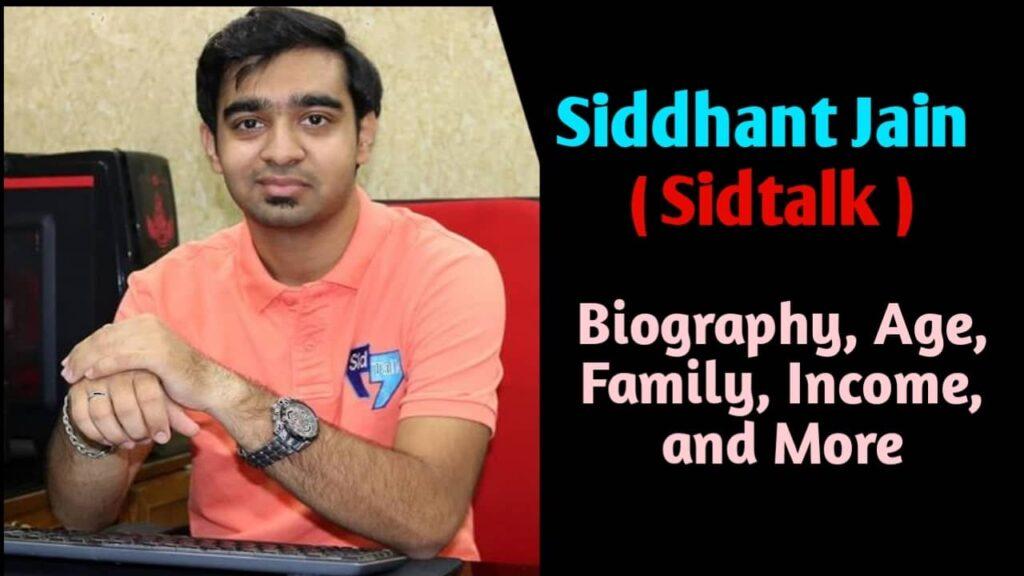 sidtalk Biography