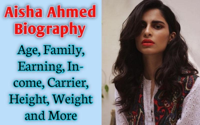 Aisha Ahmed Biography