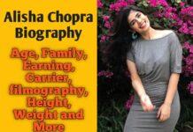 Alisha Chopra Bio