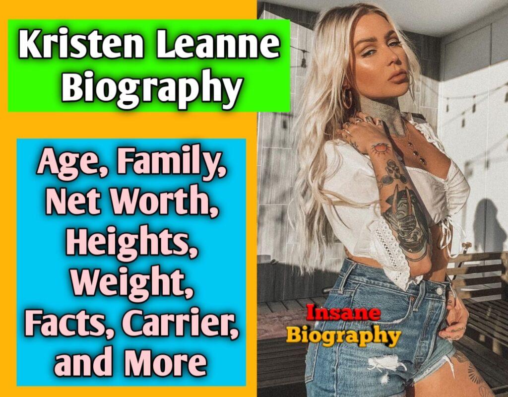 Kristen Leanne Biography