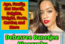 Debasree Banerjee Biography