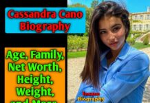 Cassandra Cano Biography