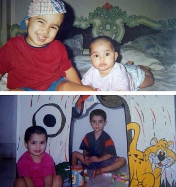 Aisha Ahmed Childhood Photo