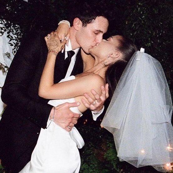 Ariana Grande Kissing Photo