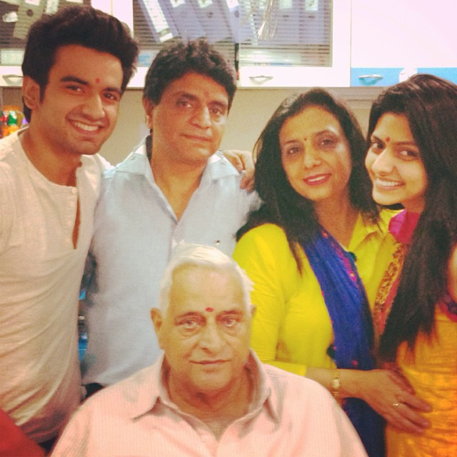 Ayush Mehra with Family