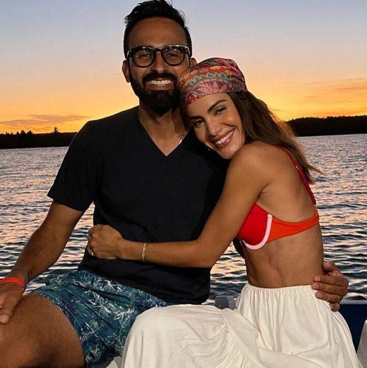 Camila Coelho with Icaro Brenner