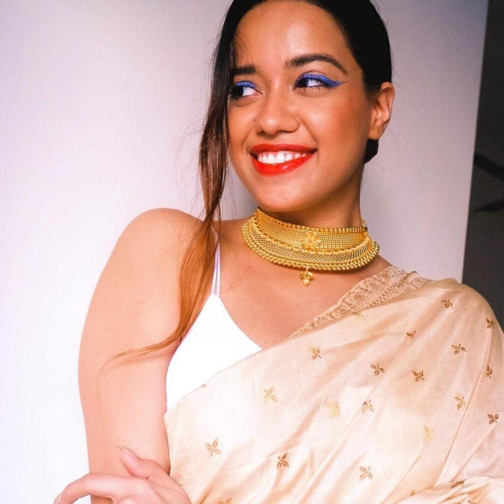 Debasree Banerjee in Saree