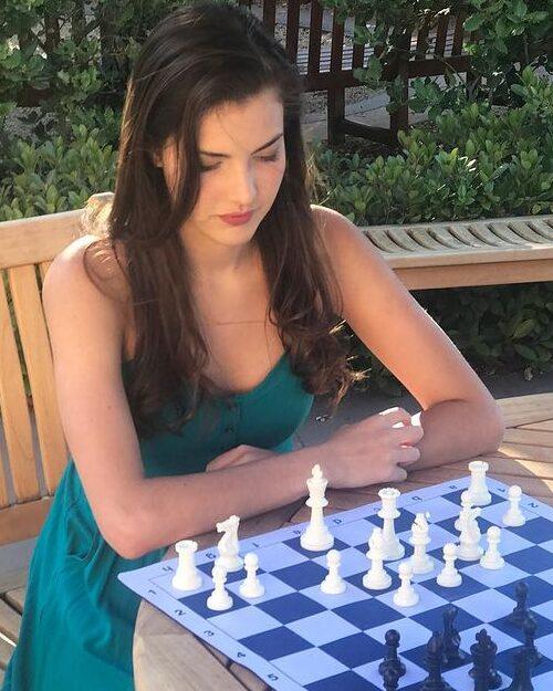 Alexandra Botez Playing Chess
