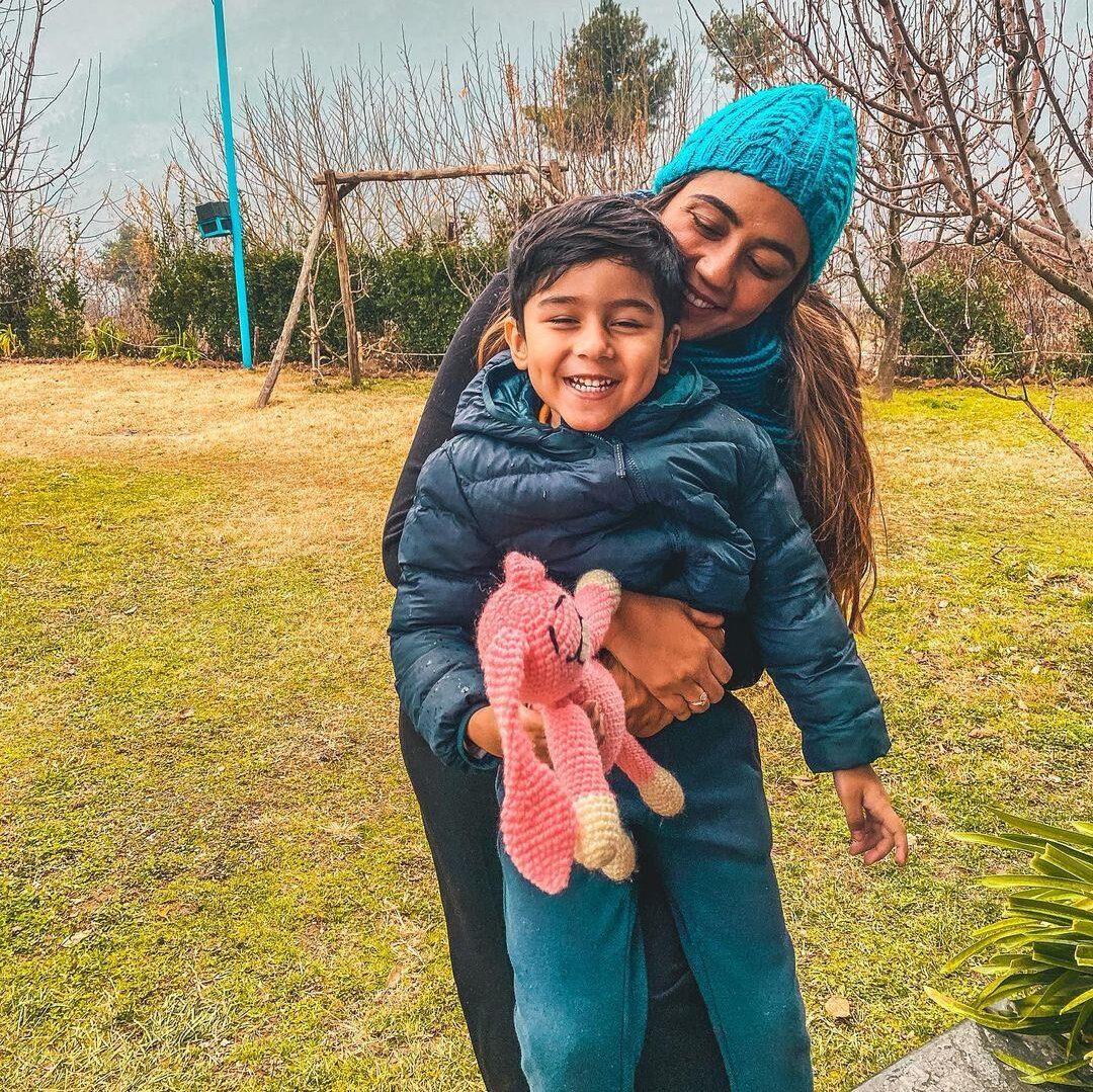 Komal Narang and her Ivaan