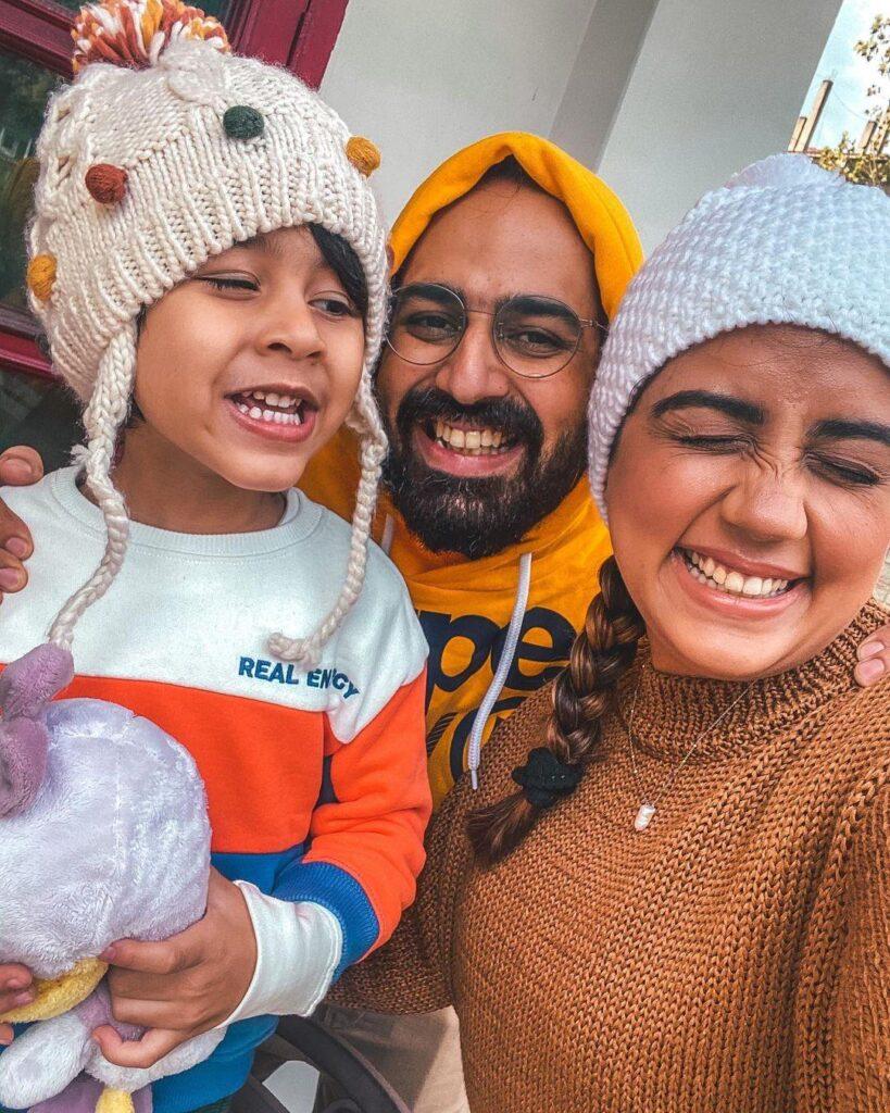 Komal Narang Family