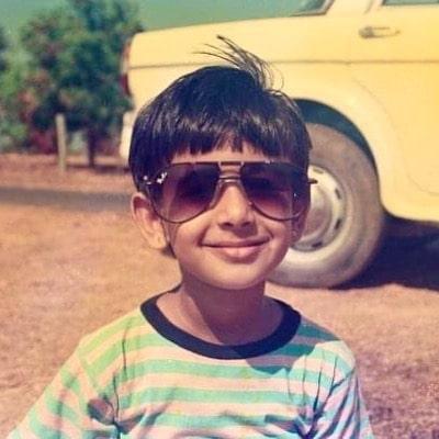 Nicole Concessao childhood photo