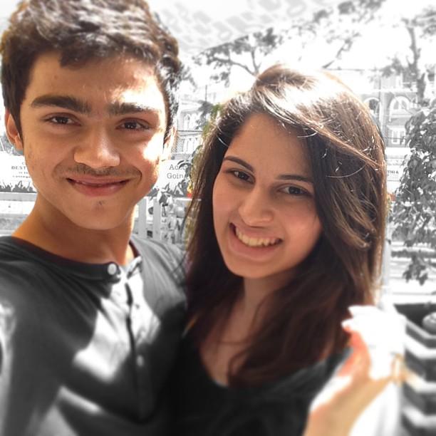 ROhan Shah With Alisha Ahmed