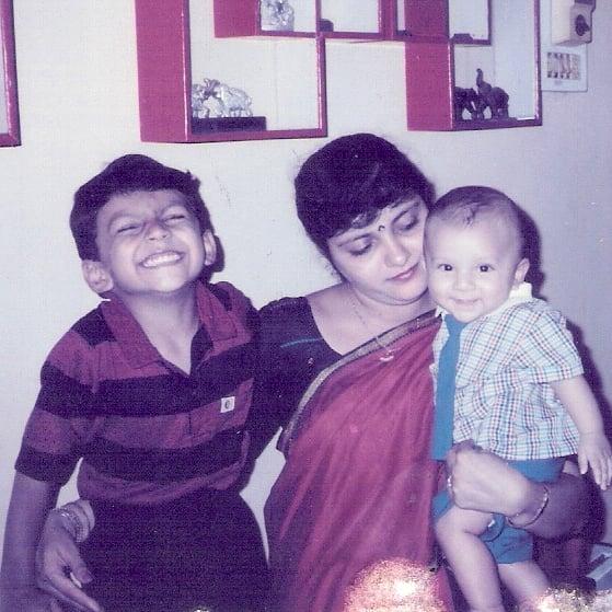 Sagar Shah Childhood Photo