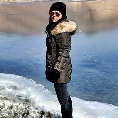 Sweta Singh at Lake