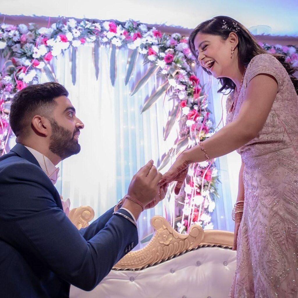 Rahu; Dua and Nidhi Tyagi Engaged Photo