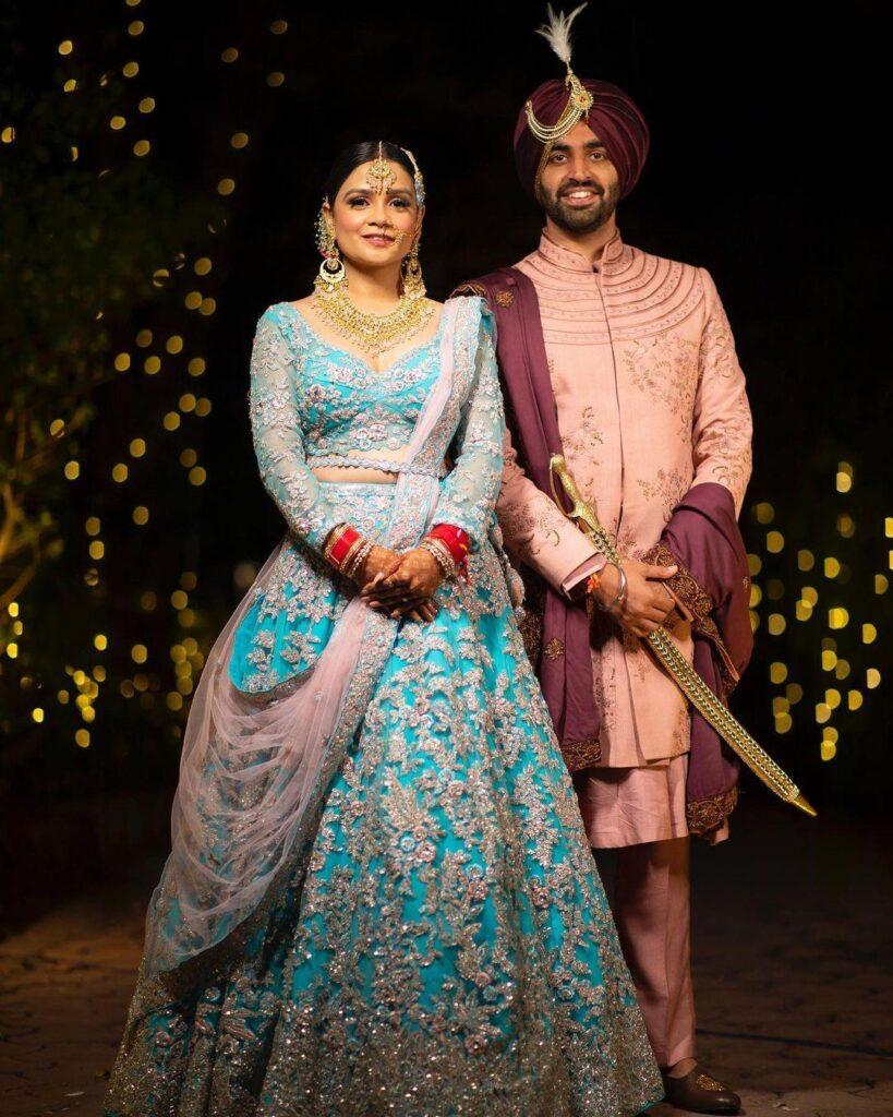Rahu; Dua and Nidhi Tyagi Marraige Photo