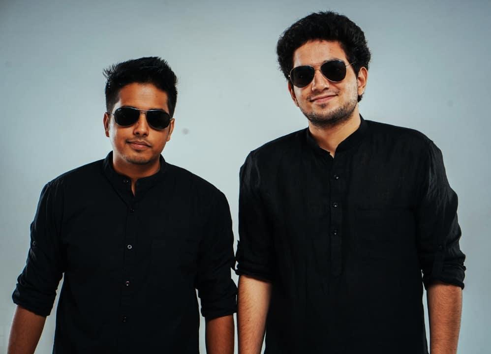Aakash Gupta with Samay Raina