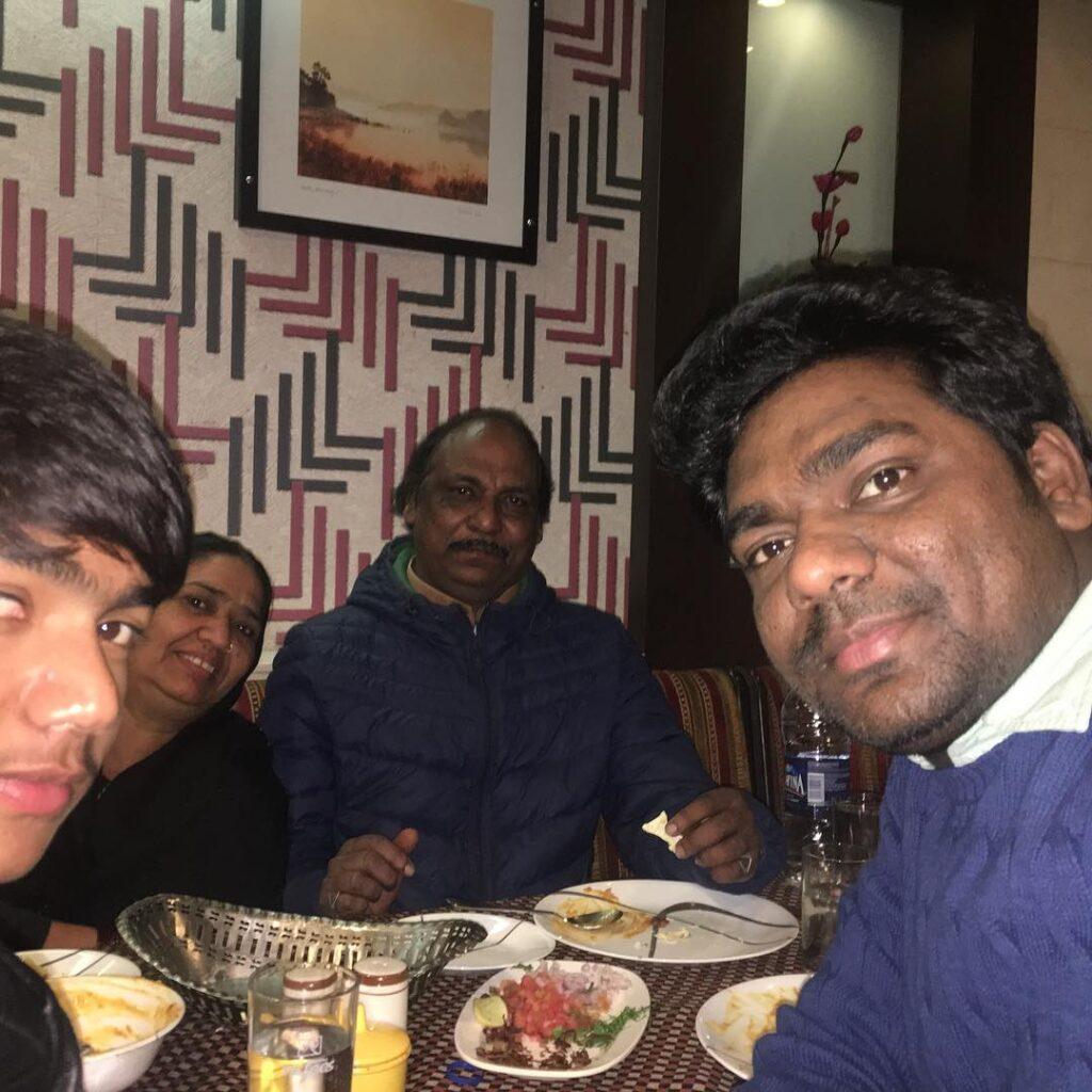 zakir khan with family
